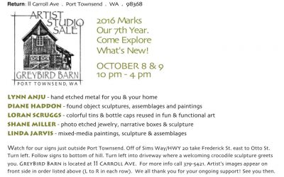 Fall Food & Art Tour – Sequim to Port Townsend