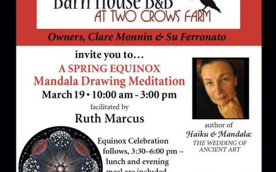 Mandala Drawing Retreat Sunday March 19th
